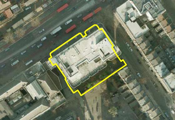 Town Hall annexe aerial
