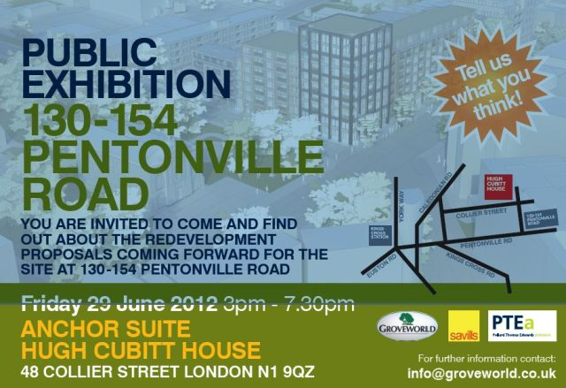 Pentonville Road Poster Flyer