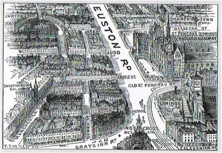 Euston Road 1885