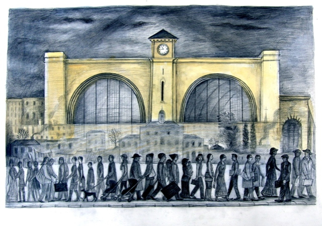 King's Cross and Small Pox Hospital anne howeson