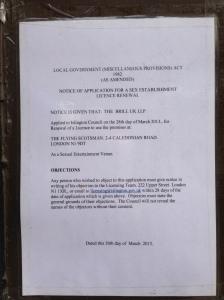 flying scotsman notice