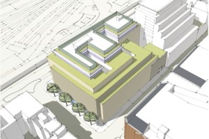 62-68 york way isometric of buliding