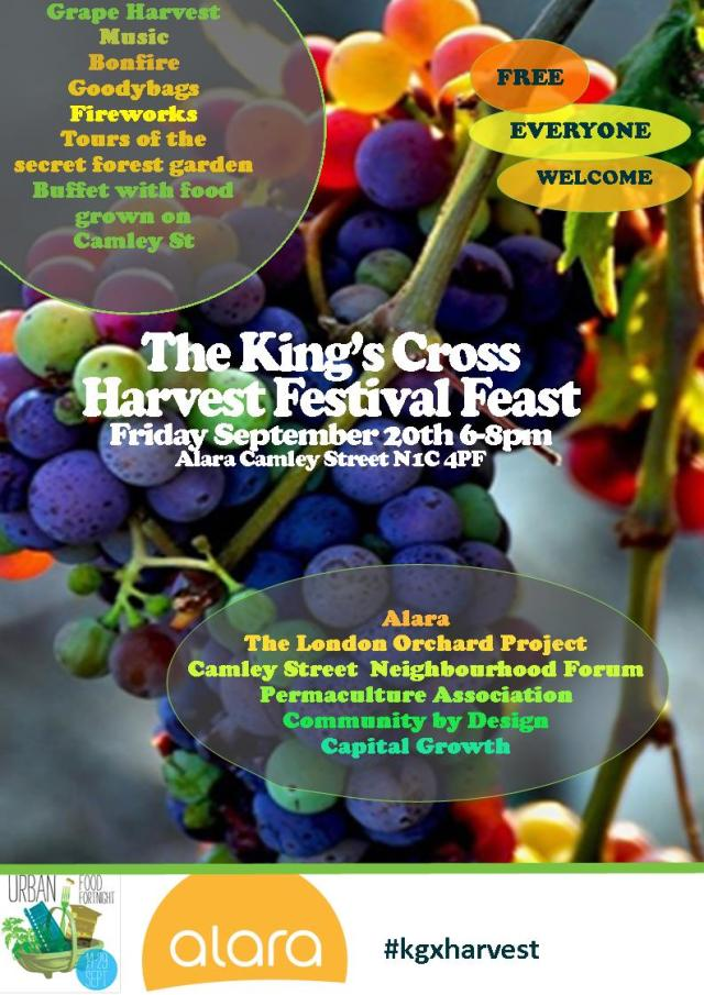 Kings Cross Harvest Festival Feast