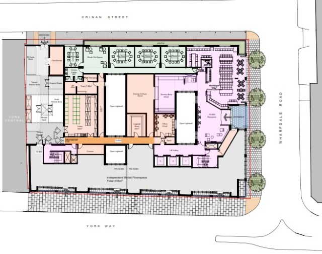 whitbread ground floor plan proposed