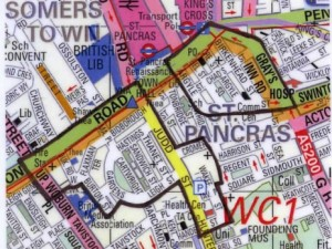 kx dispersal zone map