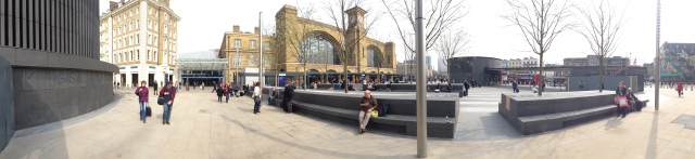kings cross square panorama
