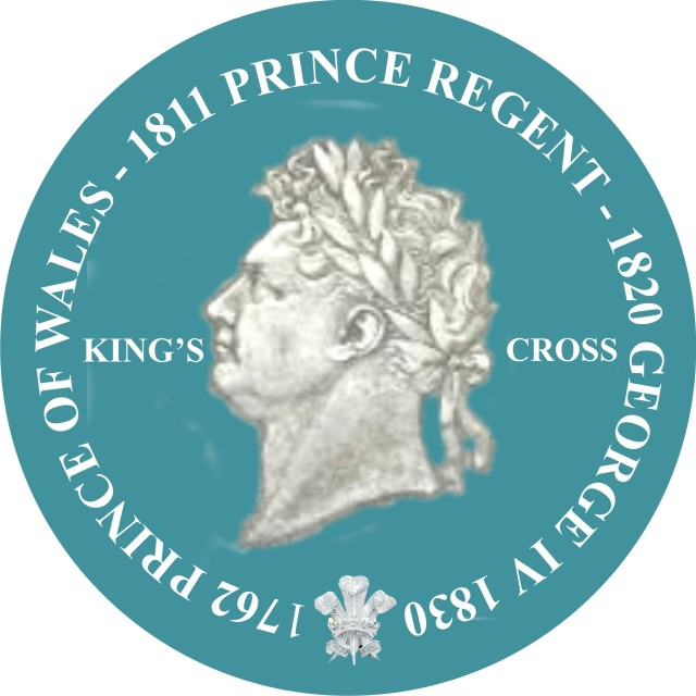 George IV wall plaque