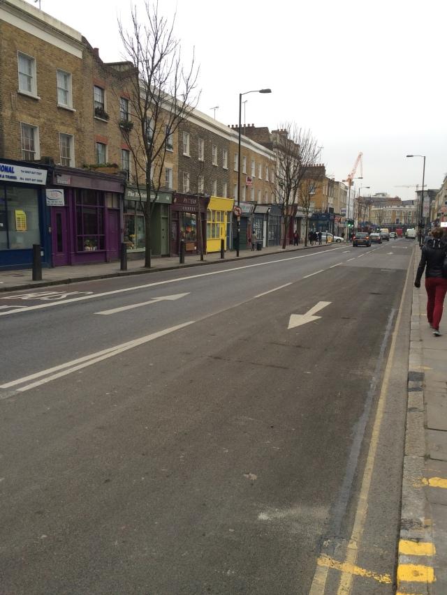 Caledonian Road Two way working