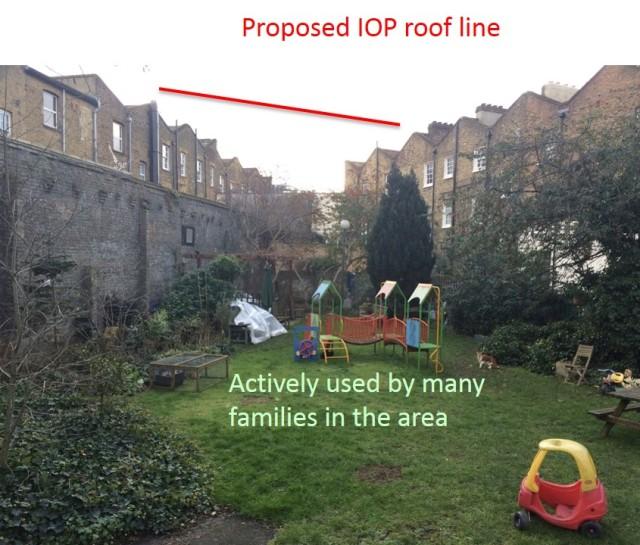 iop roof line
