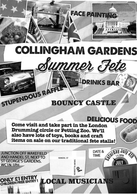 Collingham Gardens Nursery fete 2015