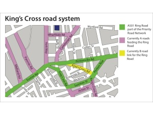 King's Cross road system