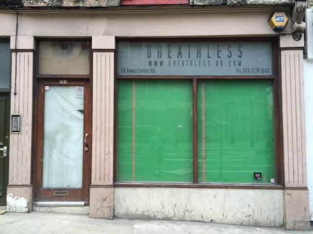 Breathless fetish shop kings cross
